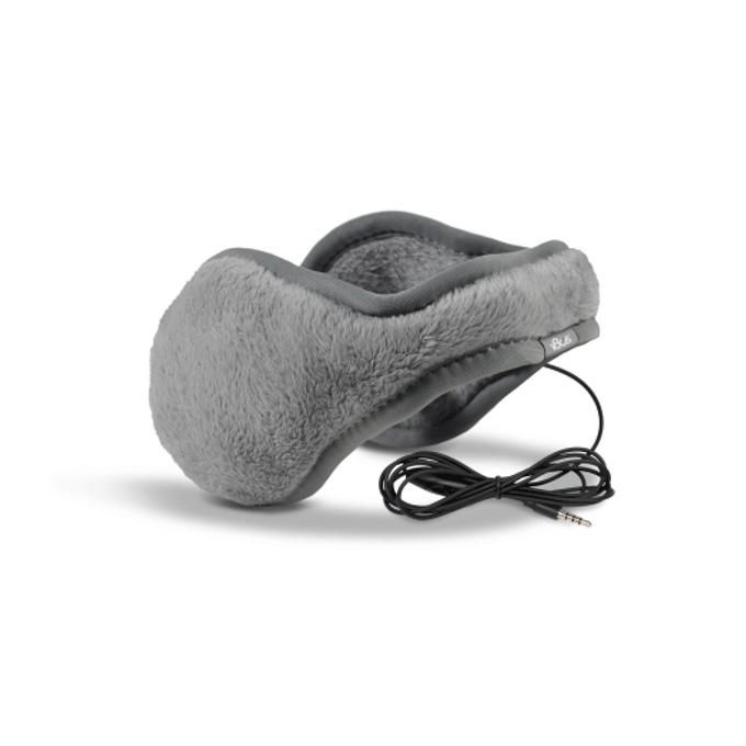 180s Lush Fur Earmuffs сиви product