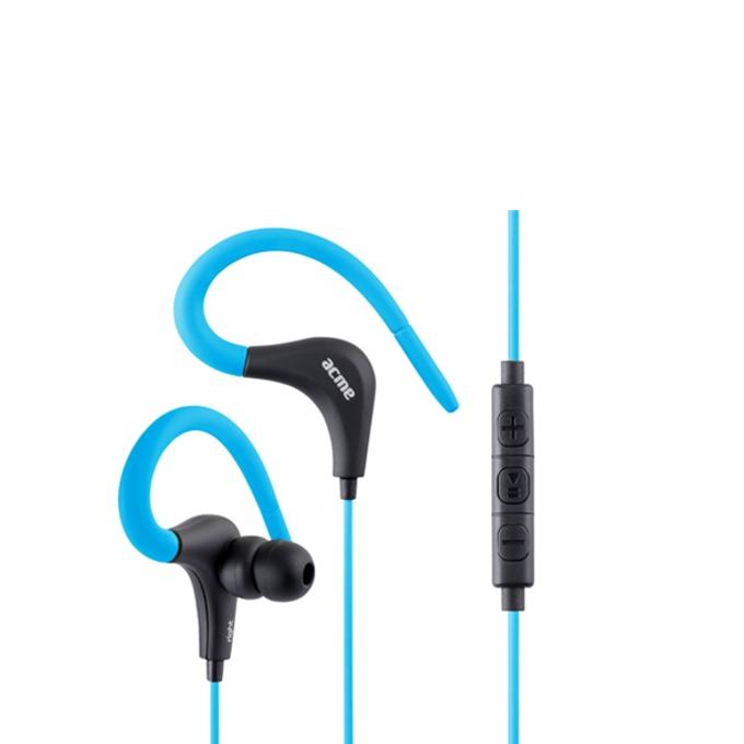 Слушалки Acme HE17B, микрофон, 20 Hz – 20 kHz, 1.20m кабел, позлатен конектор, сини image