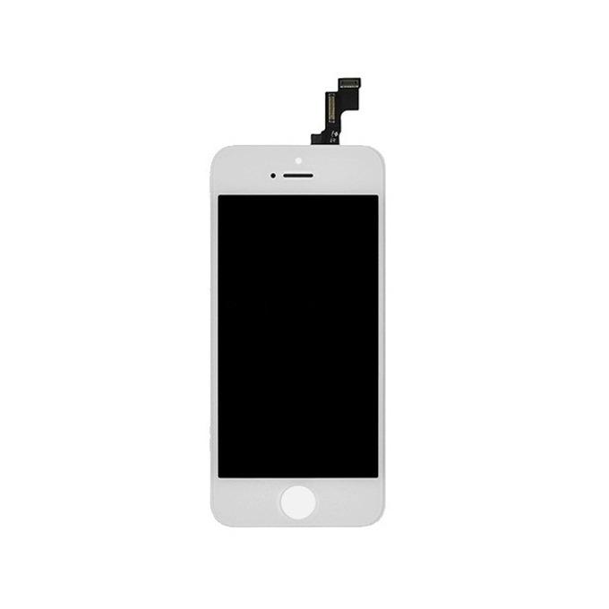 Дисплей за Apple iPhone 5S (пълен комплект), бял image