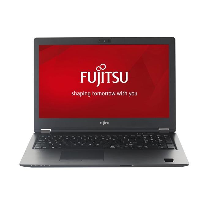 "Лаптоп Fujitsu Lifebook U758 (U7580M35SBRO), четириядрен Kaby Lake R Intel Core i5-8250U 1.6/3.4 GHz, 15.6"" (39.62 cm) Full HD Anti-Glare Display, (DP), 8GB DDR4, 256GB SSD, 1x USB Type C, Windows 10, 1.72 kg image"