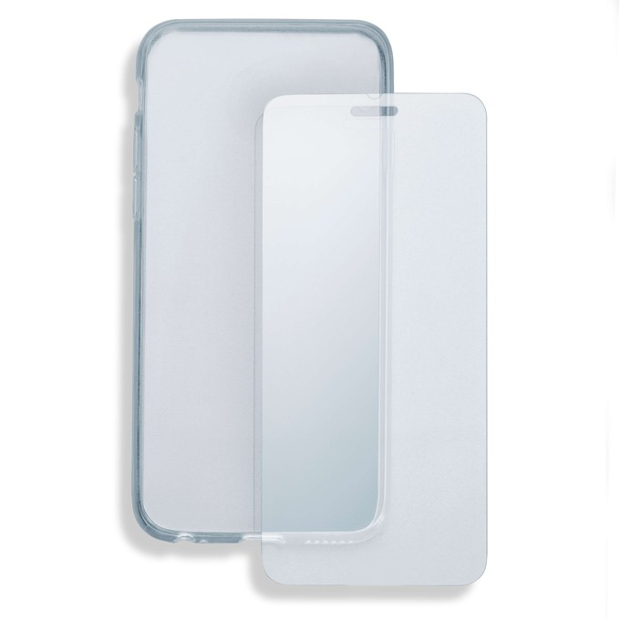 Протектор от закалено стъкло /Tempered Glass/. 4smarts за HTC 10, в комплект с TPU кейс  image