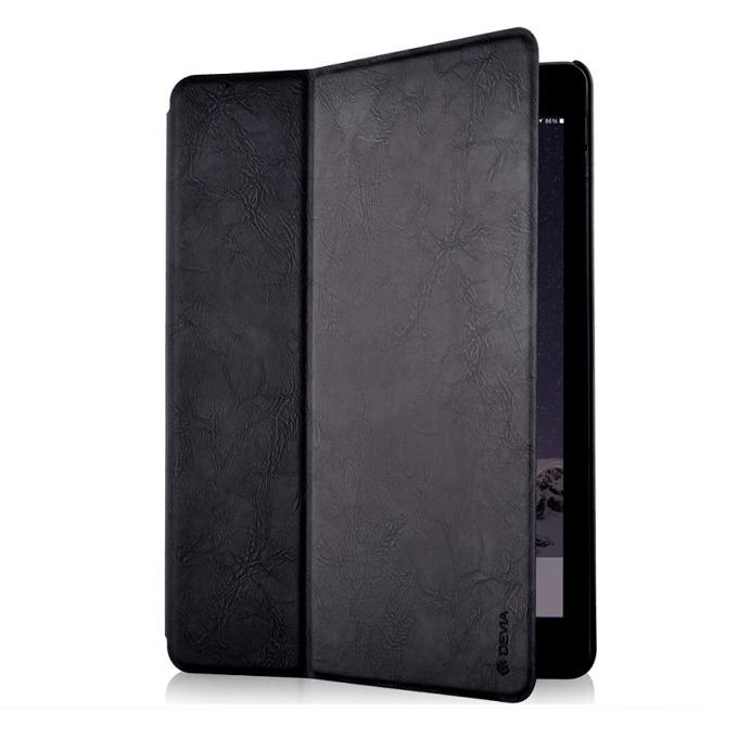 "Калъф /тип бележник/ Devia Elite за iPad Pro, до 9.7""(24.6 cm), кожен, поставка, черен image"