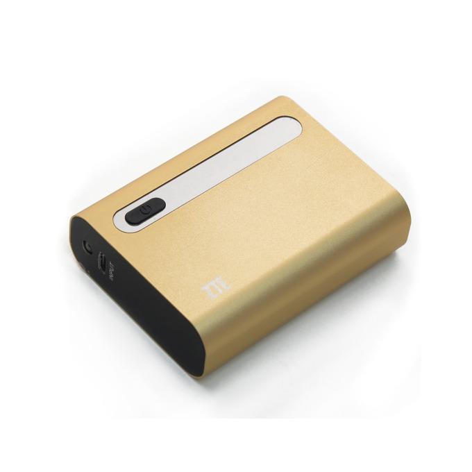 Външна батерия/power bank ZTE Power Cube P51, 5200mAh, USB, златиста image