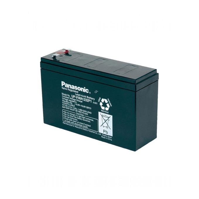 Акумулаторна батерия Panasonic UP-VWA1232P1, 12V, 6.7Ah, 6-9 години живот image