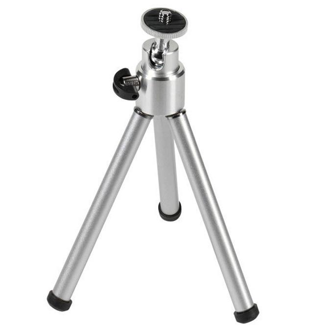 Трипод Vivanco 30763, мин/макс. височина 14-21см, 800гр. товароносимост, алуминиев, сребрист image