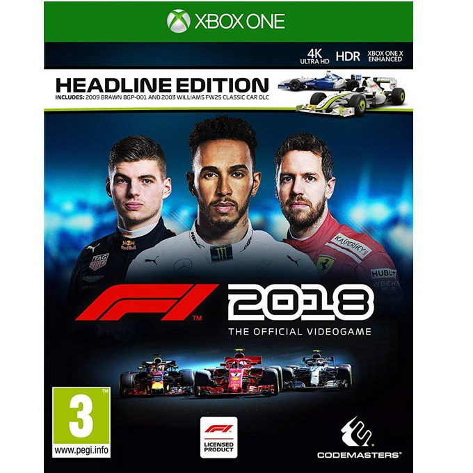 F1 2018 Headline Edition, за Xbox One image