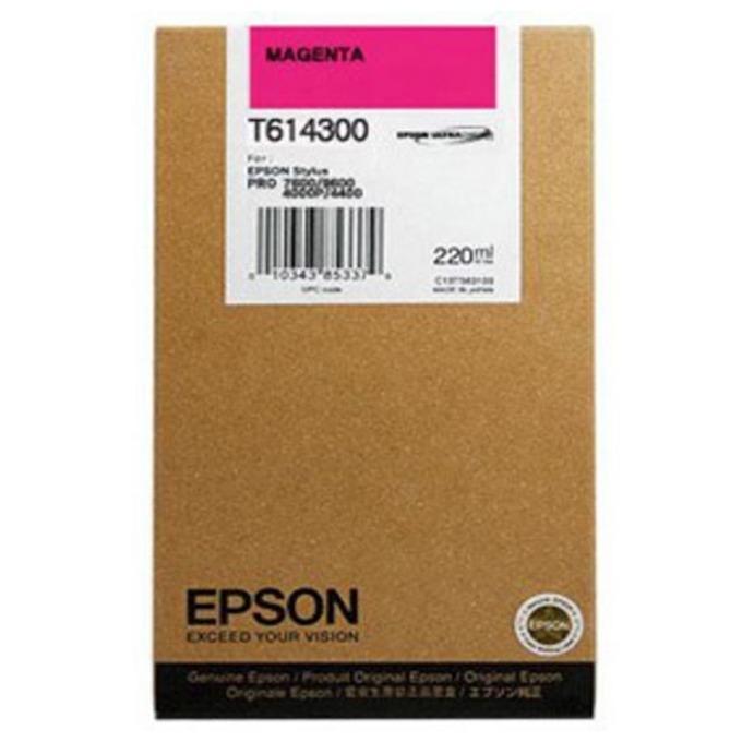 Глава за Epson Stylus Pro 4450/4400 - Magenta - P№ C13T614300 - Заб.: 220 ml. image