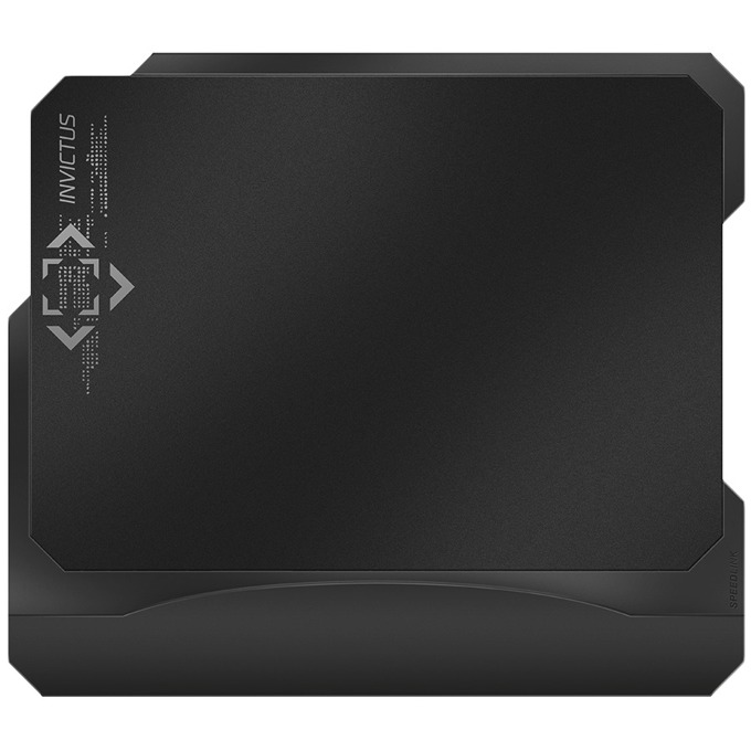 Подложка за мишка Speedlink INVICTUS Core Gaming, гейминг, черна, 300 × 215 × 5mm image