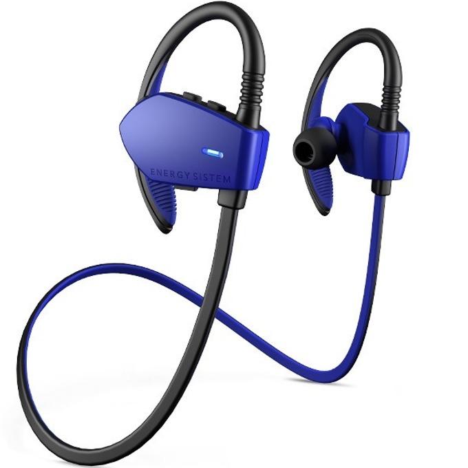 Слушалки Energy Sistem Sport 1, микрофон, Bluetooth, син image