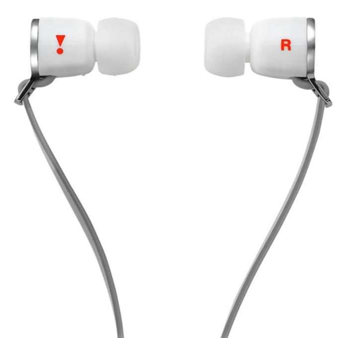 Слушалки JBL J33A In Ear, микрофон, бели image