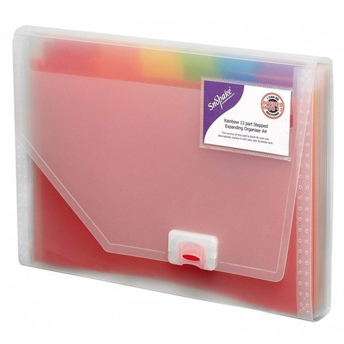 Папка Snopake Rainbow expanding product