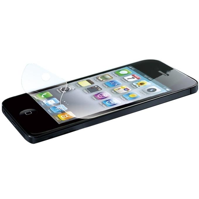 Протектор от закалено стъкло/Tempered Glass/, LogiLink AA0040, за iPhone 5, черен image