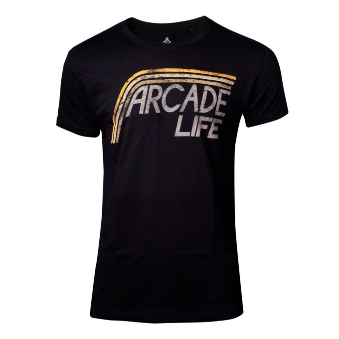 Тениска Bioworld Atari - Arcade Life, размер XL, черна image