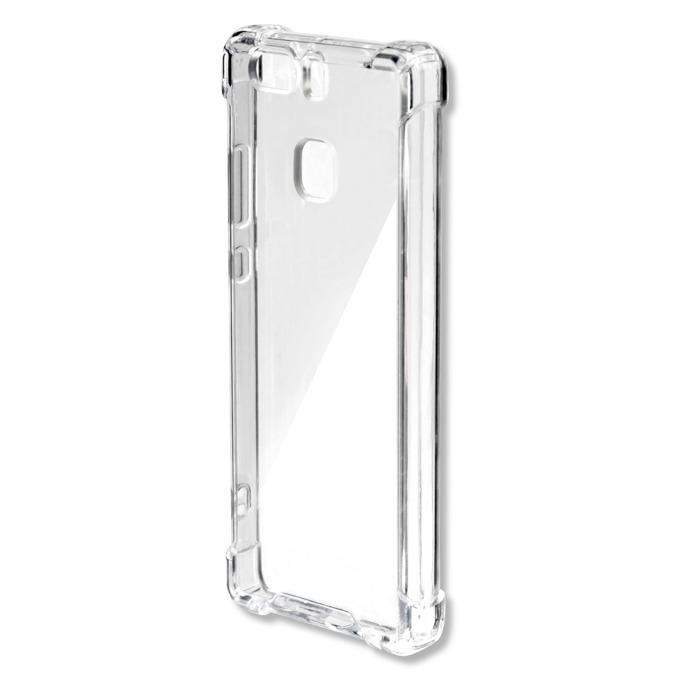 Калъф за Huawei P9, страничен протектор с гръб, поликарбонат, 4Smarts Basic Ibiza Clip, прозрачен image