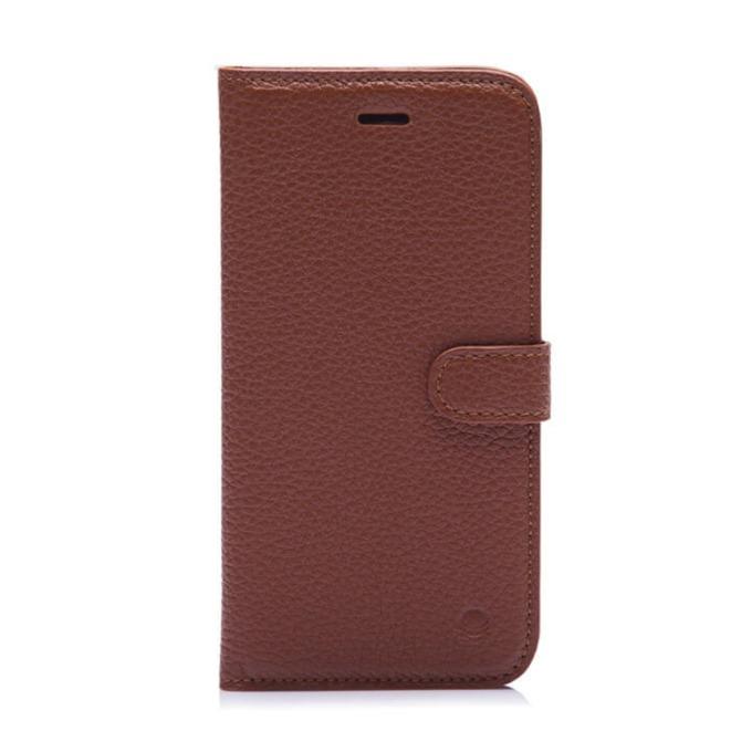 Калъф за Apple iPhone 7/8, Flip Wallet, кожа, Beyza Booklet Folio, кафяв image