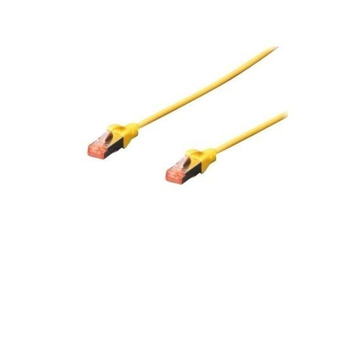 Пач кабел Assmann, SFTP, Cat.6A, 3m, жълт  image