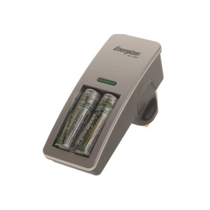 Зарядно у-во Energizer Mini за батерии 1/2 x AA/AAA, с вкл. батерии 2 x AA 2000mAh image