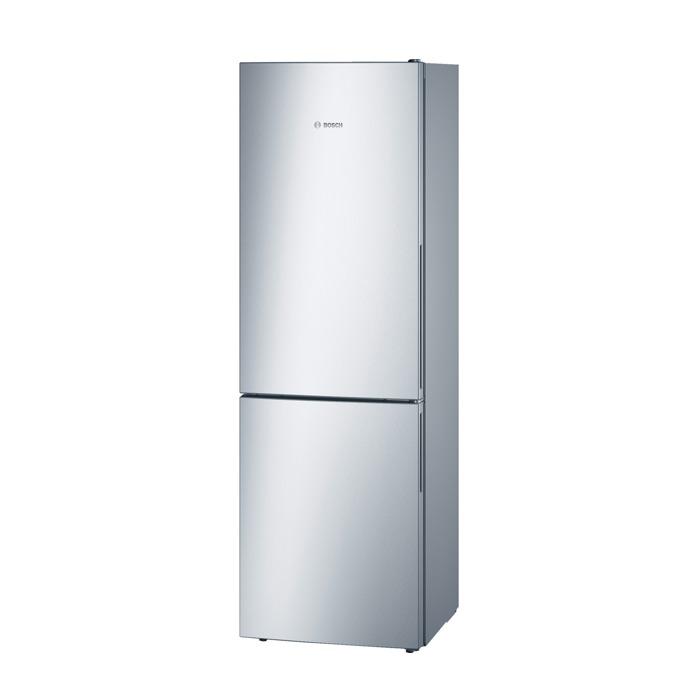 Хладилник с фризер Bosch KGV36UL30, клас A++, 312 л. общ обем, свободностоящ, 226 kWh/годишно, LED осветление, eлектронно управление, VitaFresh Box, инокс image