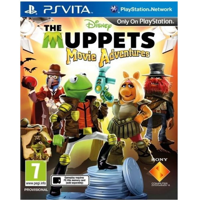 The Muppets Movie Adventures, за PSVITA image