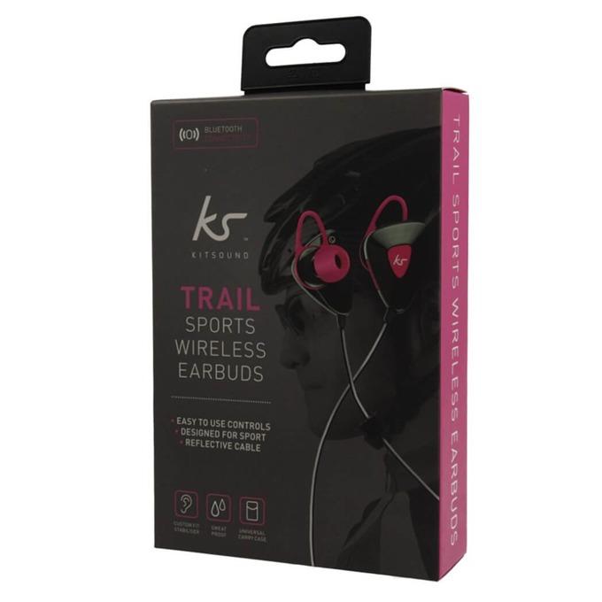 Слушалки KitSound BT Headset Trail Sport KSTRP, безжични, черни image