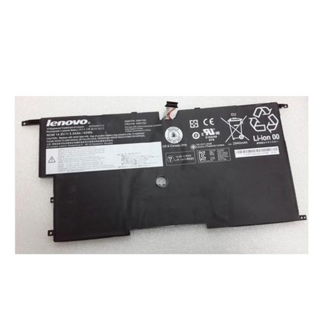 Батерия (оригинална) Lenovo ThinkPad X1 Carbon, Li-ion, 14.8V, 3110mAh   image