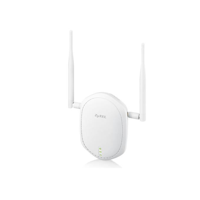 Access point/Аксес пойнт ZYXEL NWA1100-NH, безжичен, 1000Mbps, 2x3dBi външни антени, 802.11 b/g/n PoE, 4 SSID image