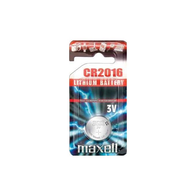 Батерия литиева MAXELL CR2016, 3V, 1 бр. image