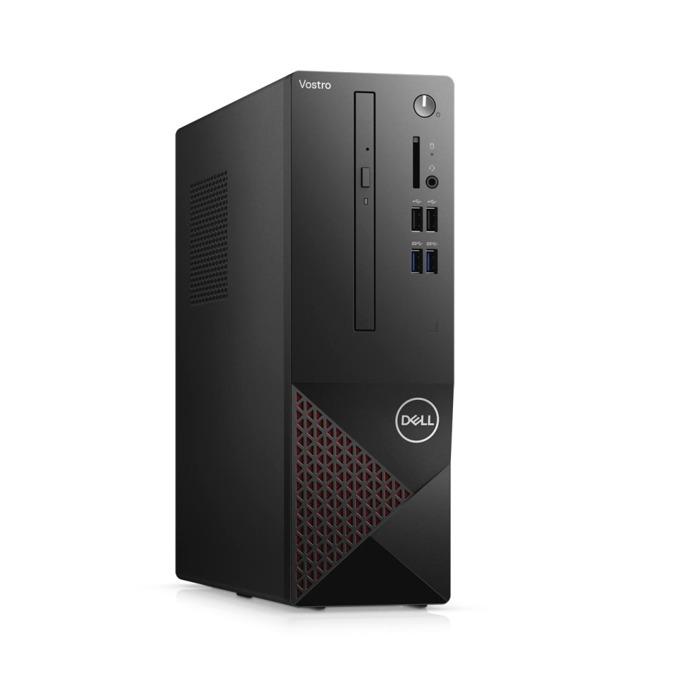 Настолен компютър Dell Vostro 3681 SFF (N510VD3681EMEA03A_2101_UBU), осемядрен Comet Lake Intel Core i7-10700 2.9/4.8 GHz, 8GB DDR4, 512GB SSD, 4x USB 3.2 Gen 1, клавиатура и мишка, Linux image
