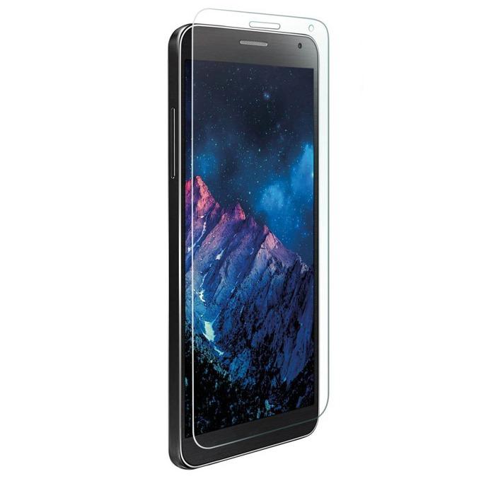 Протектор от закалено стъкло /Tempered Glass/. 4smarts за Samsung Galaxy J1 Nxt/Mini, в комплект с TPU кейс  image