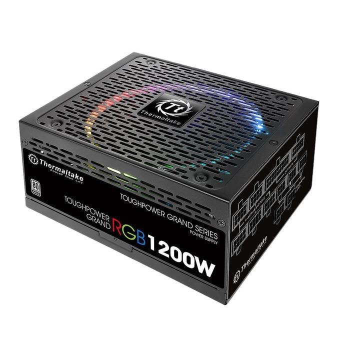 Захранване Thermaltake Toughpower Grand RGB, 1200W, Active PFC, 80+ Platinum, изцяло модулно, 140mm вентилатор, RGB подсветка image