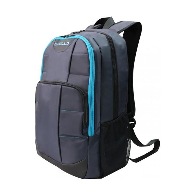 "Раница за лаптоп Dicallo LLB9962R16L, до 16"" (40.64 cm), сива-синя image"