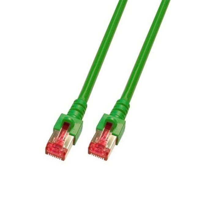 Пач кабел Cat.6 1m SFTP зелен K5514.1