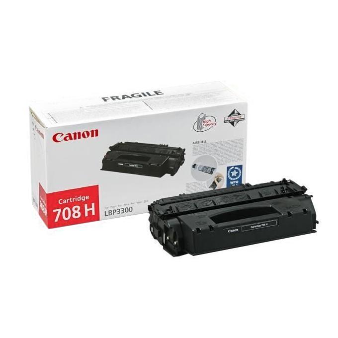 КАСЕТА ЗА CANON LBP 3300 - Black - P№ CRG-708H - CR0917B002AA - заб.: 6000k image