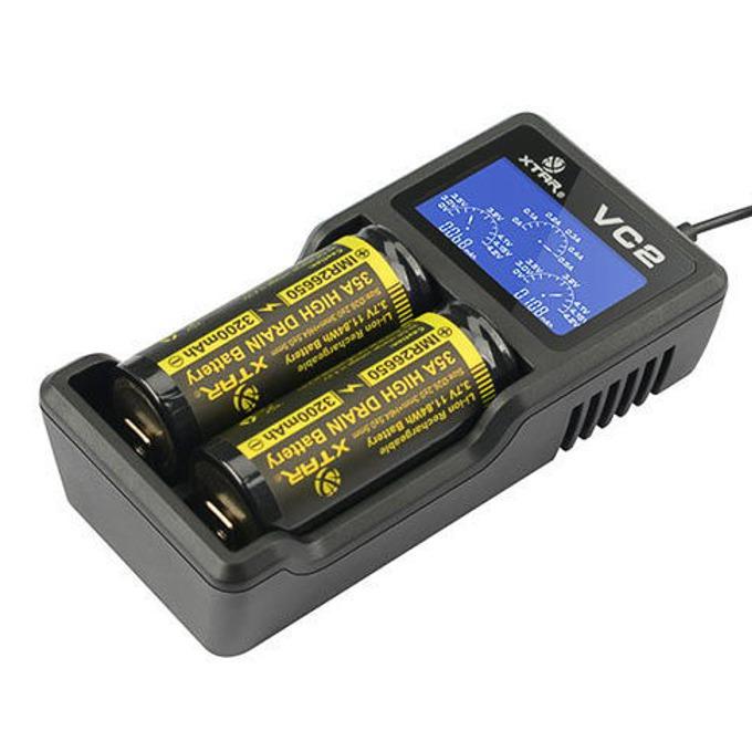 Зарядно устройство Xtar VC2