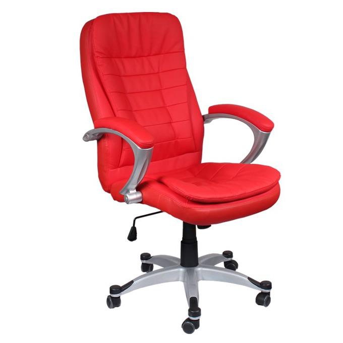 Директорски стол Carmen 6013, червен image