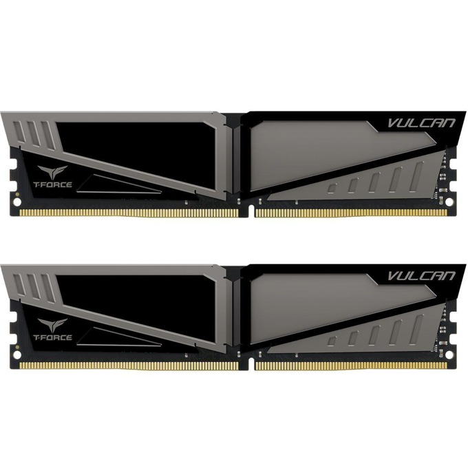 32GB (2x16GB) DDR4 3000MHz, Team Group T-Force Vulcan, TLGD432G3000HC16CDC01, 1.35V image