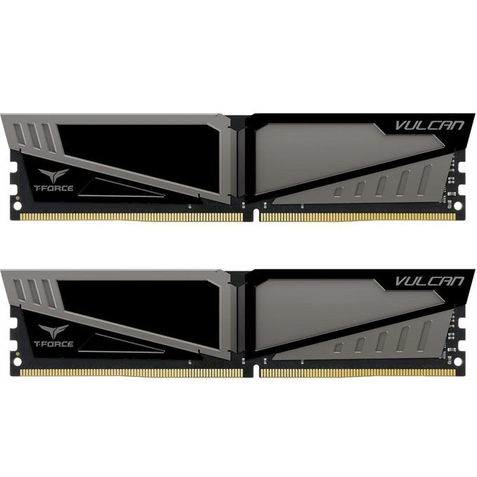 32GB (2x16GB) DDR4 3000MHz, Team Group T-Force Vulcan, TLGD432G3000HC16CDC01, 1.35V image