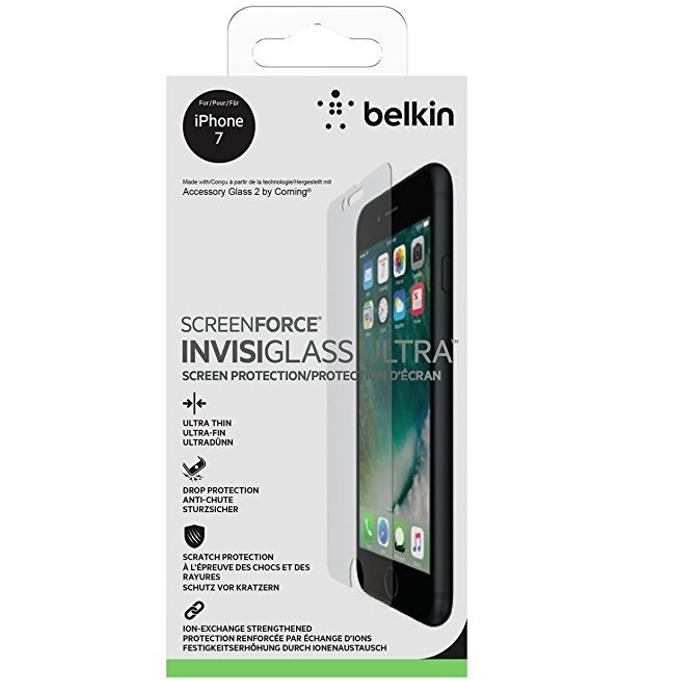 Протектор от закалено стъкло /Tempered Glass/, Belkin f8w810vf, за iPhone 8/7/6/6S image