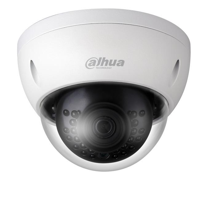 IP камера Dahua IPC-HDBW1230E-S-0280B, куполна, 2MP Mpix(1920x1080@25FPS), 2.8 mm обектив, H.265+/H.265/H.264+/H.264, IR осветеност (до 30 метра), външна вандалоустойчива IK10, IP67 защита от вода, PoE, RJ-45, Micro SD memory image