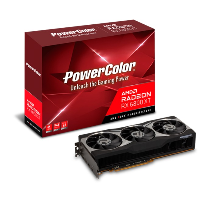 PowerColor Radeon RX 6800 XT 16GB GDDR6