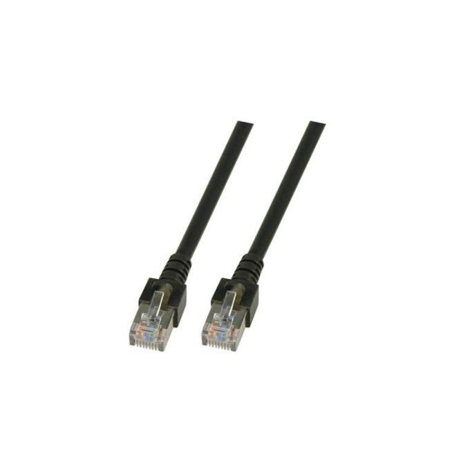 Пач кабел FTP EFB Elektronik, 3m, Cat 5E, черен image