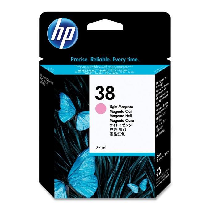ГЛАВА HP Photosmart Pro B9180 Professional Photo Printer - Light Magenta Pigment Ink - P№ C9419A - заб.: 27ml. image