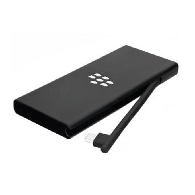 Външна батерия /power bank/ BlackBerry Powerbank microUSB, 2100mAh, черна image