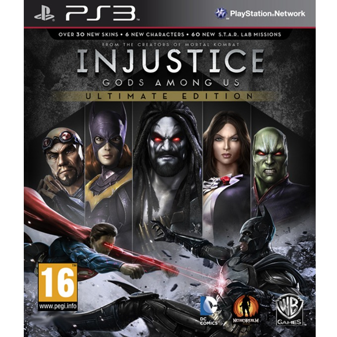 Injustice: Gods Among Us Ultimate Edition, за PS3 image