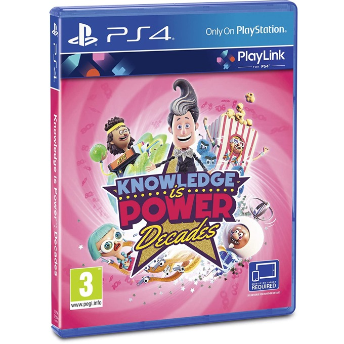 Knowledge is Power: Decades PS4 product