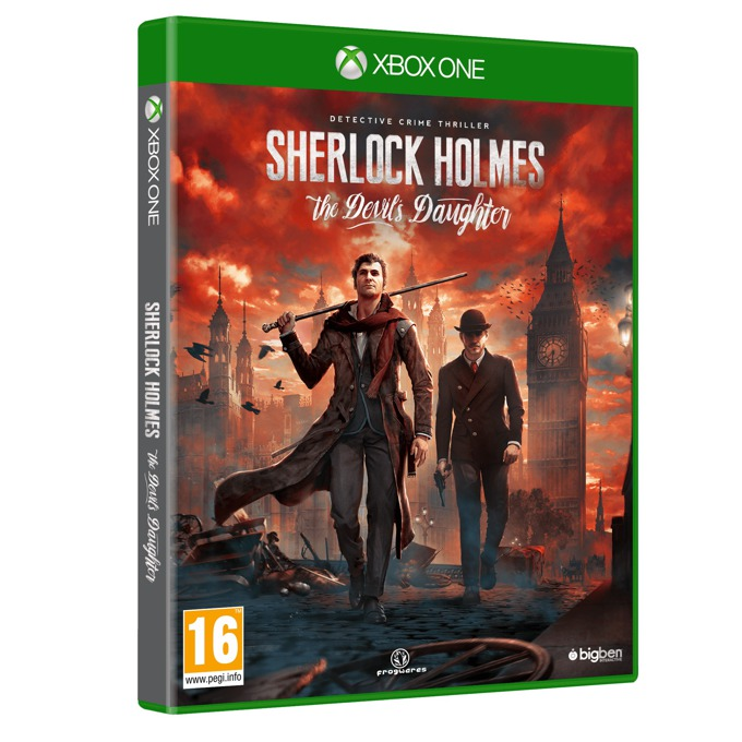 Sherlock Holmes: The Devils Daughter, за Xbox One image