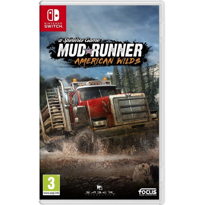 Игра за конзола Spintires: MudRunner - American Wilds, за Nintendo Switch image