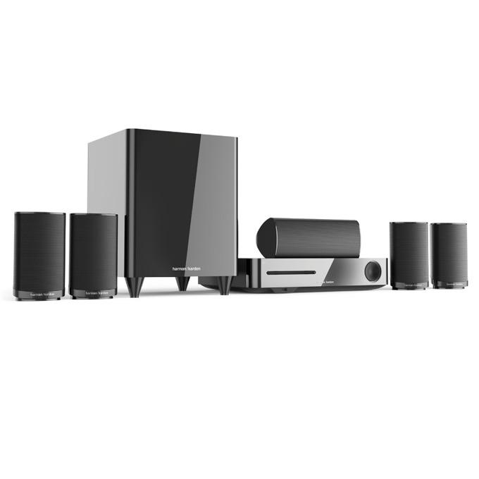 Система за домашно harman/kardon BDS 635, 5.1, безжична, Bluetooth, WiFi, HDMI, USB, ARC, RMS(5x50W +100W), черна image