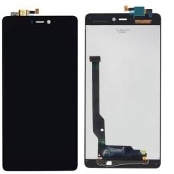 Дисплей за Xiaomi Mi 4c, LCD, с тъч, черен  image