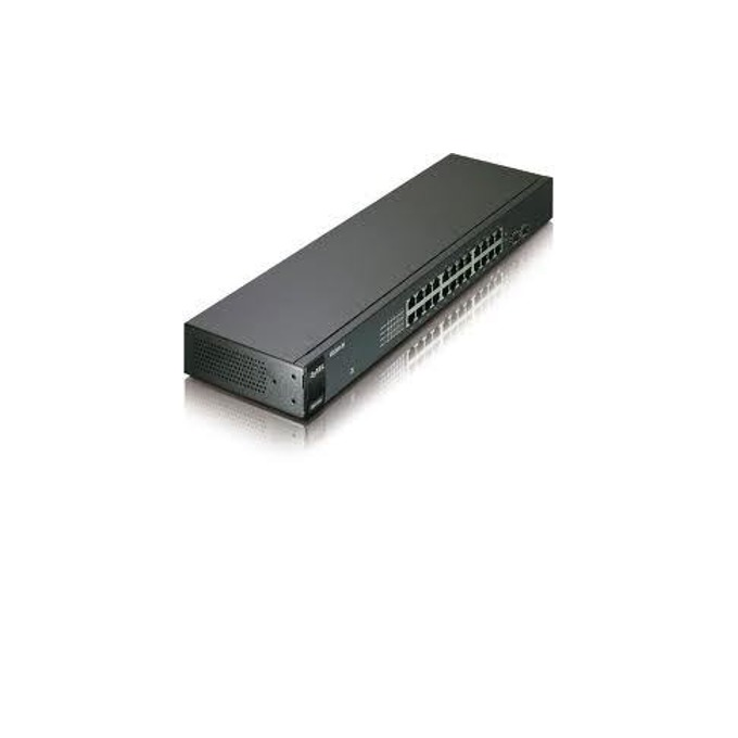 Суич ZyXEL GS1900-8, 8 портов 1000Mbps, Gigabit Web Smart, 8x Gigabit metal, IPv6, 802.3az (Green) image